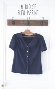 Maison et travaux n°6 – La blouse bleu marine