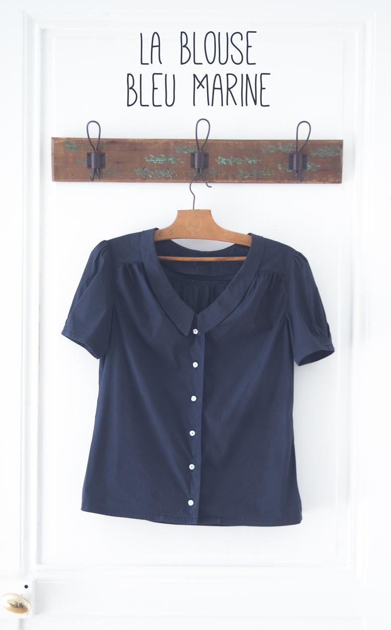 Maison et travaux n 6 la blouse bleu marine la muse au for Magazine maison et travaux