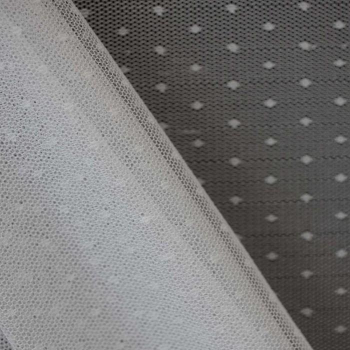 tissu-dentelle-petits-pois-blanc-x-10cm
