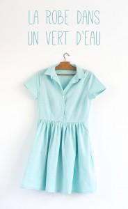 Maison et travaux n°17 – La robe dans un vert d'eau