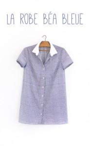 Maison et travaux n°18 – La robe Béa bleue