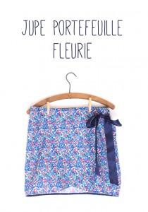 Maison et travaux n°21 – La jupe portefeuille fleurie