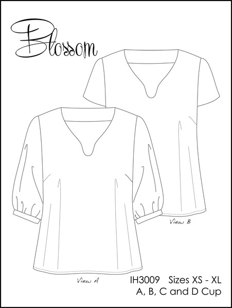 Blossom - In house patterns 2