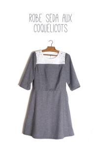 Maison et travaux n°33 – La robe Seda aux coquelicots