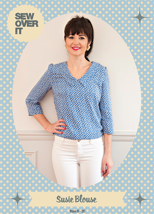 Susie blouse front coverA5