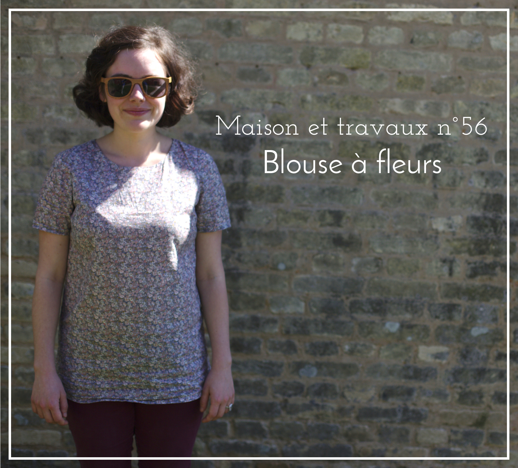 Blouse à fleurs - Sew over it - Ultimate shift dress