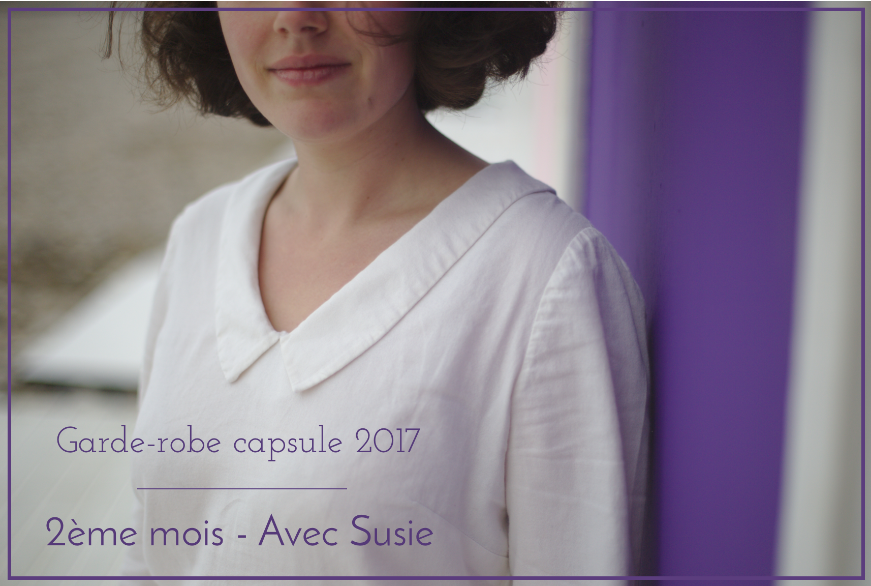 Garde-robe capsule - Blouse Susie - Sew over it