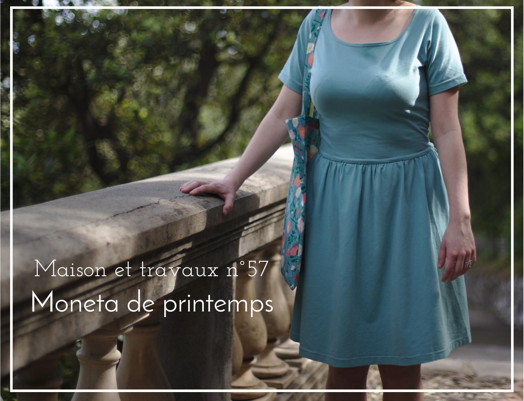 La muse au placard - Moneta - Colette patterns - Printemps