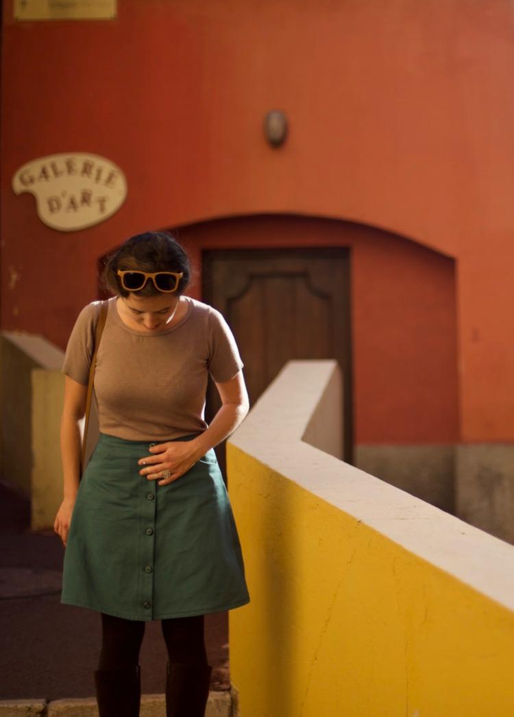 La muse au placard - Pauline Alice - Rosari skirt 4