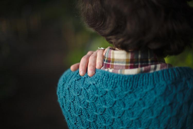 La muse au placard - classic smocking cardigan - Petite knit 2