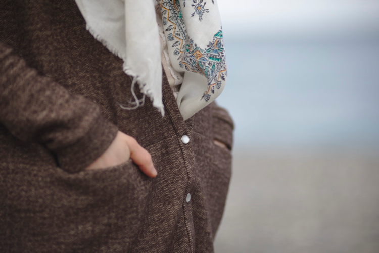 La muse au placard - Driftless cardigan - Grainline studio 4