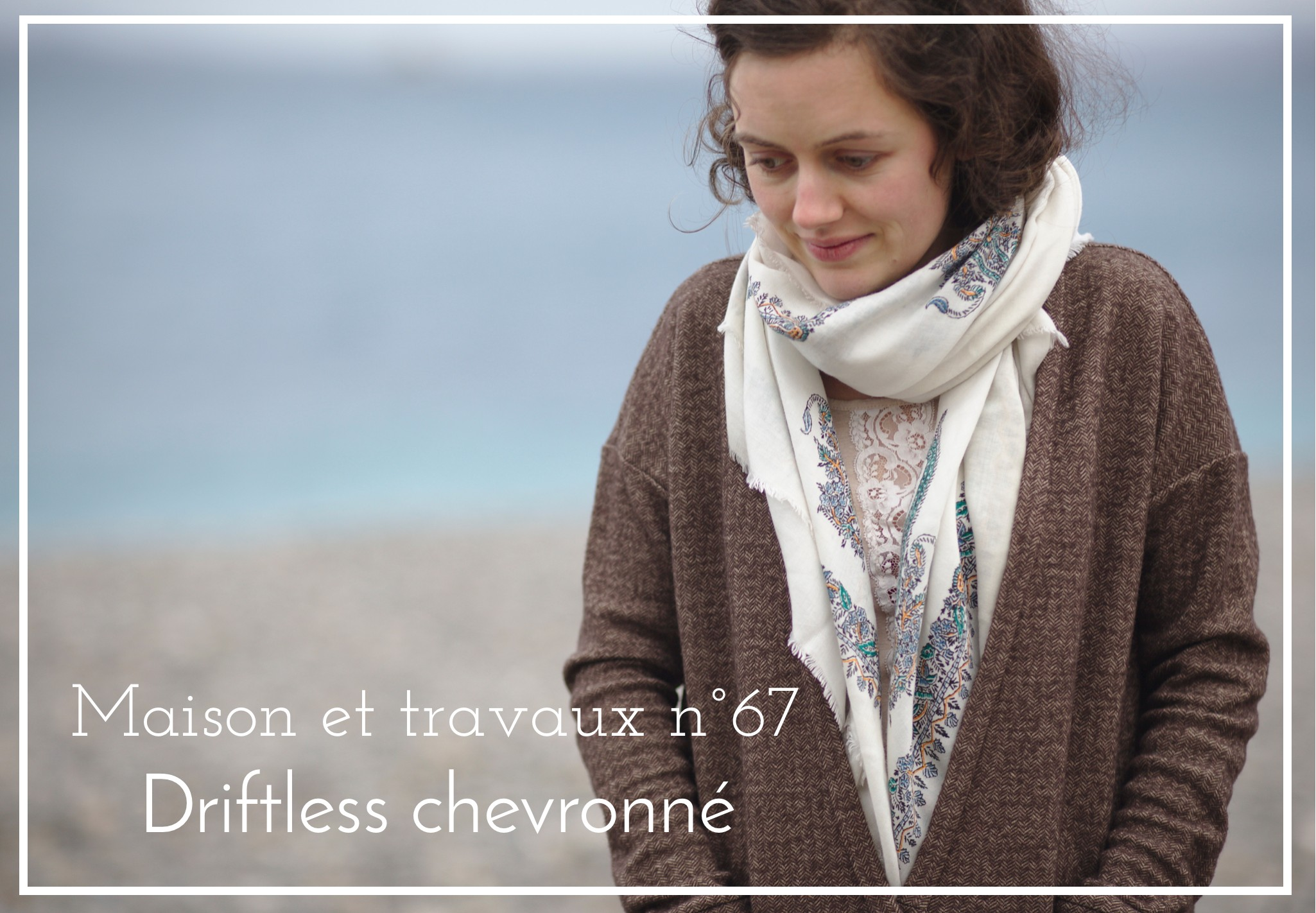 La muse au placard - Driftless cardigan - Grainline studio