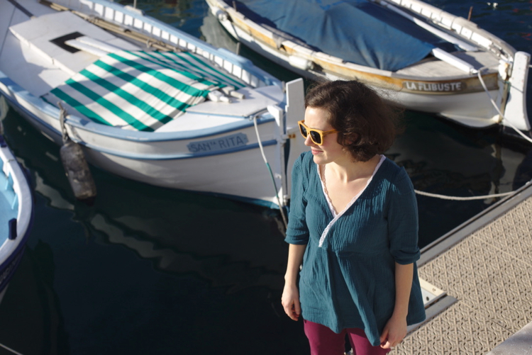 La muse au placard - blouse Eugénie - Atelier Scämmit 1