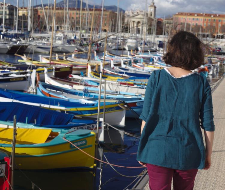 La muse au placard - blouse Eugénie - Atelier Scämmit 2