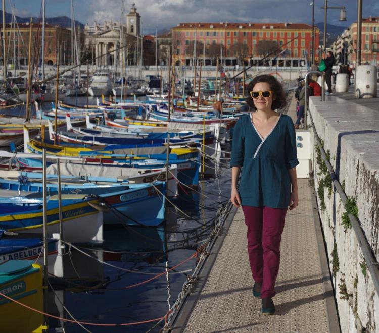 La muse au placard - blouse Eugénie - Atelier Scämmit 3