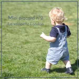 Mini placard n°2 – La salopette London