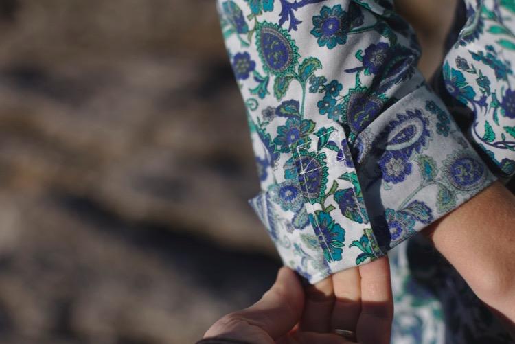 Alex shirt - Sew Over it - Coton motifs cachemire 4