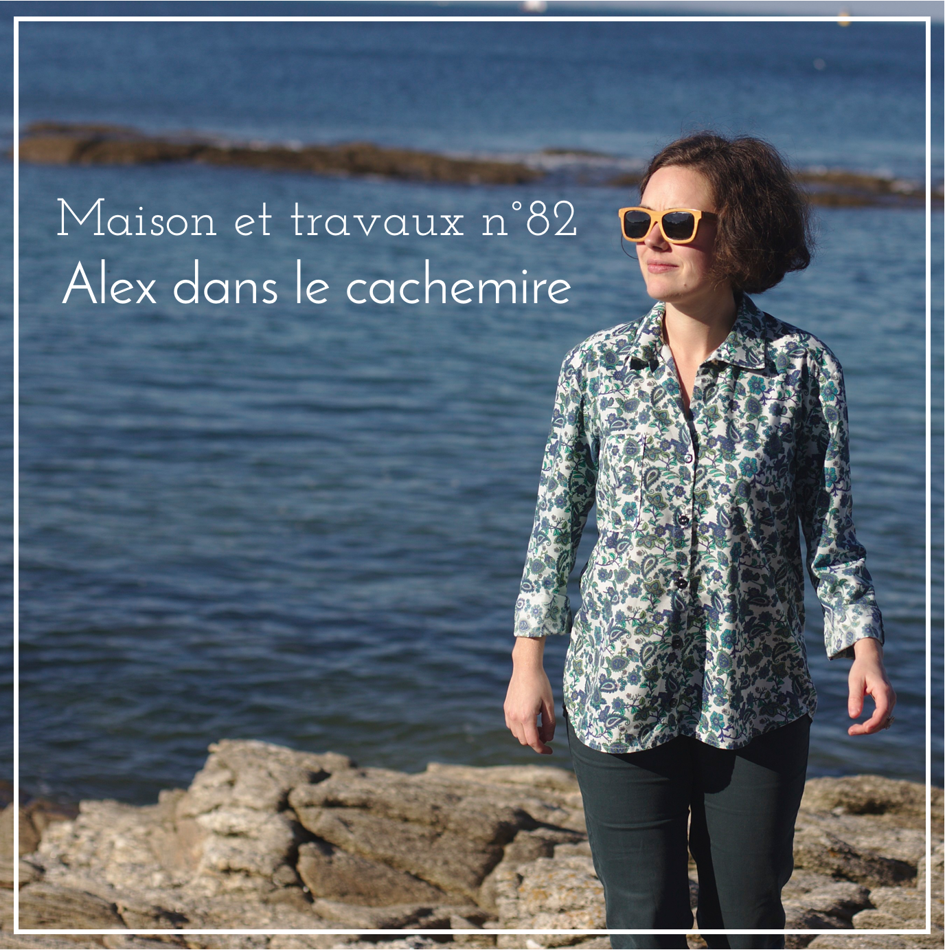 Alex shirt - Sew Over it - Coton motifs cachemire