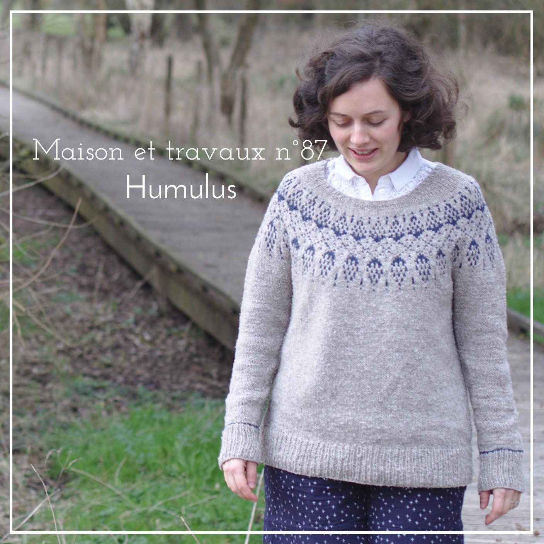 Maison et travaux - Pull Humulus - Isabell Kraemer