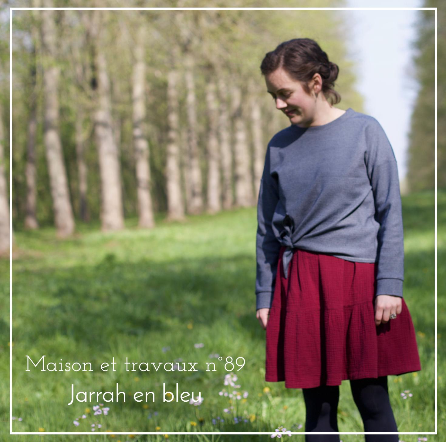 Megan Nielsen - Jarrah top - Sweat The sweet mercerie