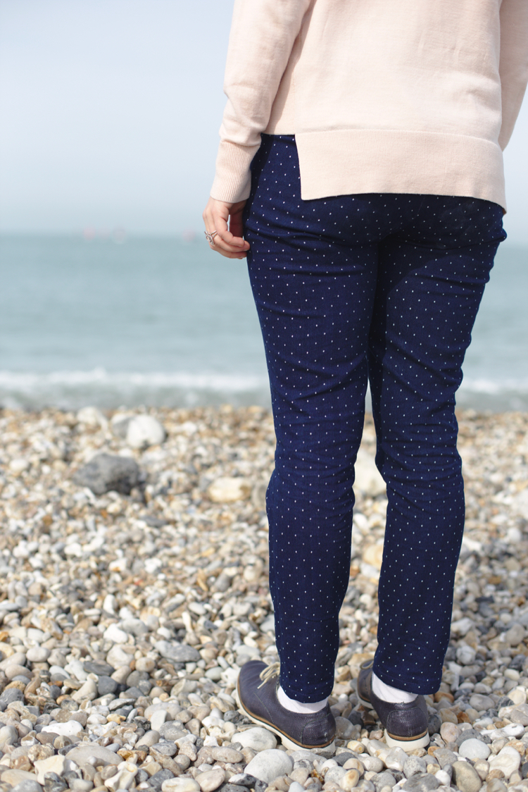 Maison et travaux - Ultimate trousers - Sew Over It - Jean Pretty mercerie 1