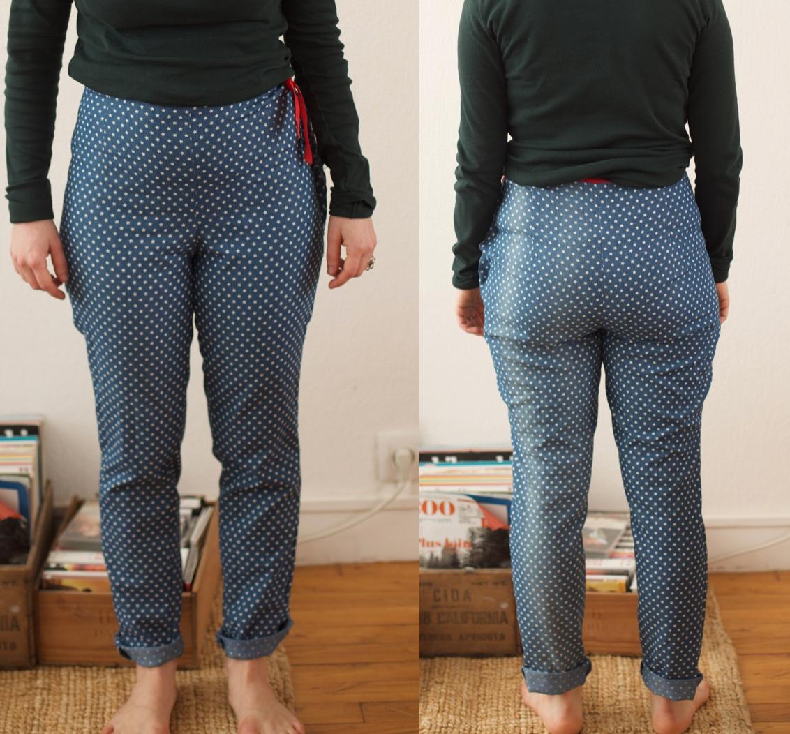 Maison et travaux - Ultimate trousers - Sew Over It - Jean Pretty mercerie 6