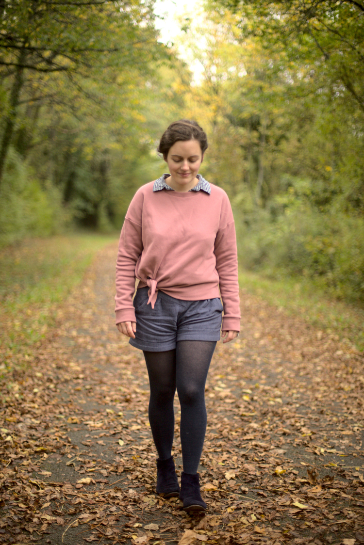 Maison et travaux - Jarrah Sweater - Megan Nielsen - The sweet mercerie 4