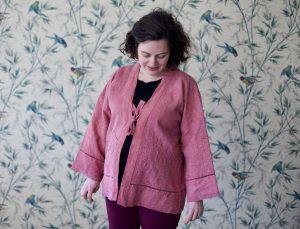Défi recyclage – Le vieux drap transformé en kimono